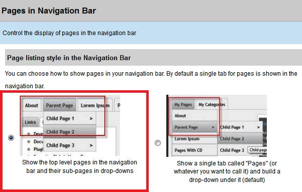 suffusion-menu-encima-de-la-cabecera-barra-de-navegacion