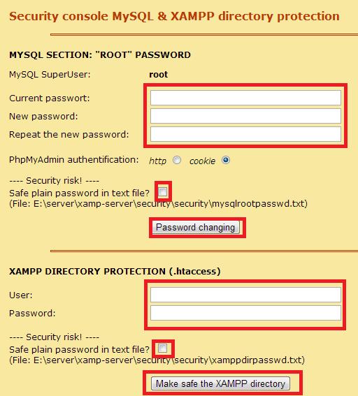 instalar-wordpress-local-ajustes-de seguridad