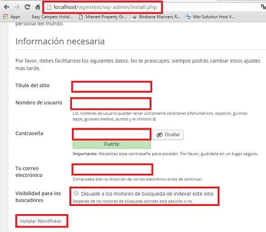 instalar-wordpress-local-informacion-instalacion