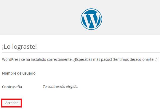 instalar-wordpress-local-instalado