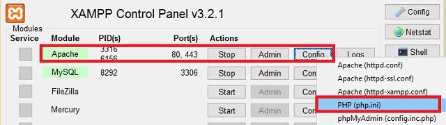 xampp-configuracion-panel-de-control-phpini