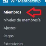 Añadir miembros manualmente usando simple membership plugin