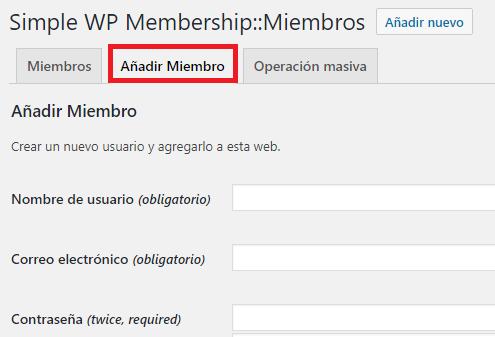 agregar-miembros-simple-membership-plugin