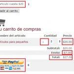 Como crear un carrito de compras de PayPal