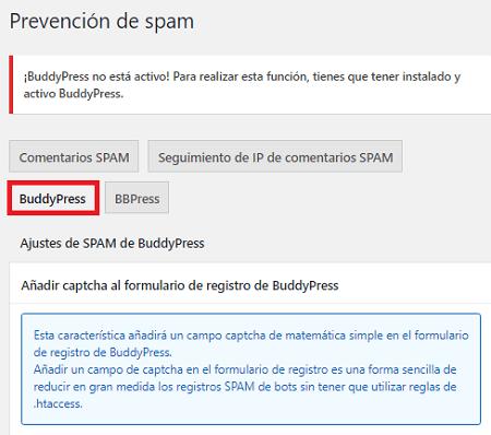 prevencion-de-spam-buddypress-de-aiowps