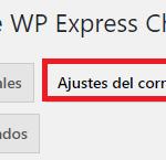 Ajustes de correo electrónico de WP Express Checkout