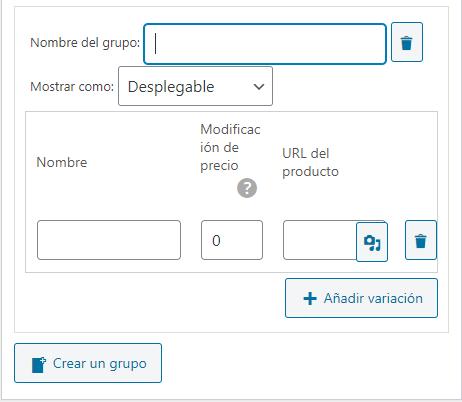 nombre-grupo-variación-producto-de-wp-express-checkout