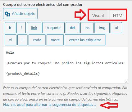 ajustes-cuerpo-comprador-correo-electrónico-stripe-payments