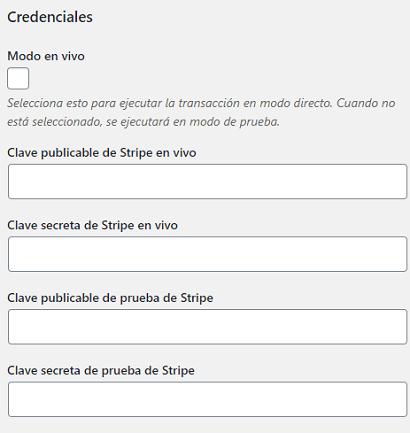 credenciales-de-ajustes-generales-de-stripe-payments