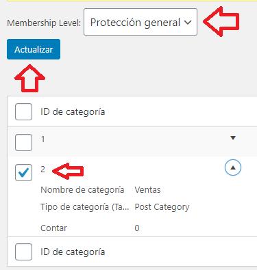 protección-general-asignada-categoría-wp-simple-membership