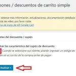 Añadir cupones de descuento WP Simple PayPal Shopping Cart