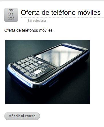venta-de-teléfono-móvil-wp-simple-shopping-cart