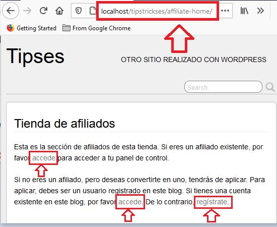 pagina-de-acceso-registro-wp-affiliates-manager