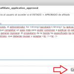 Personalizar el sistema de mensajería de WP Affiliates Manager