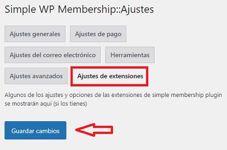 ajustes-extensiones-del-plugin-simple-membership