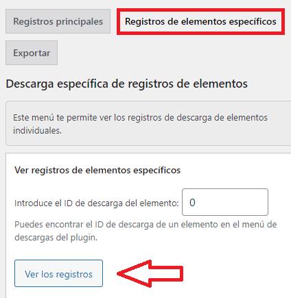 registros-elementos-específicos-wordpress-simple-download-monitor-plugin