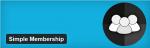 WP simple membership plugin para miembros